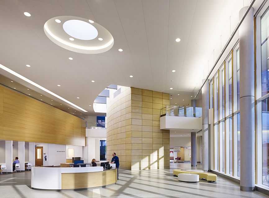 Mercy health west hospital architecture field office Oh design